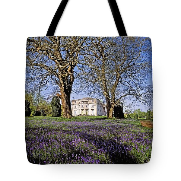 Bluebells In The Pleasure Grounds, Emo Tote Bag by The Irish Image Collection