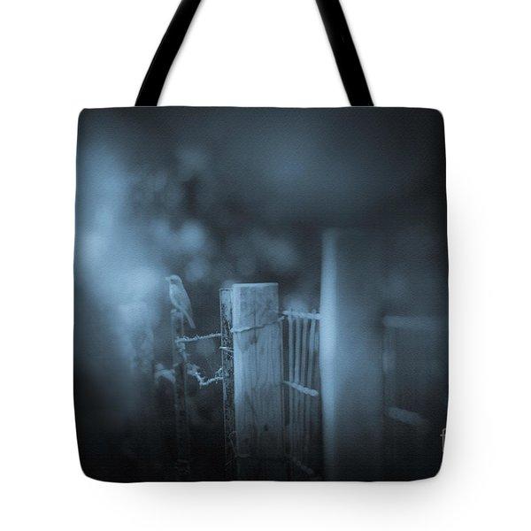 Bluebird Tote Bag by Kim Henderson