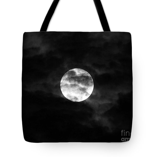 Blustery Blue Moon Tote Bag by Al Powell Photography USA