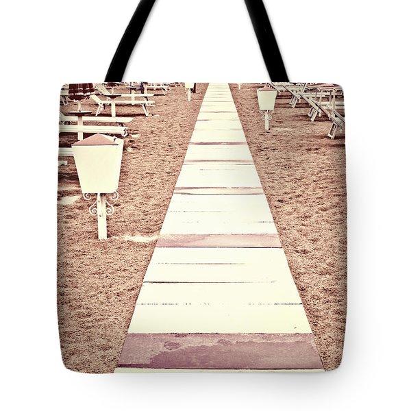 Boardwalk Tote Bag by Joana Kruse