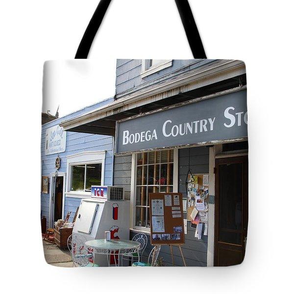 Bodega Country Store . Bodega Bay . Town Of Bodega . California . 7d12452 Tote Bag by Wingsdomain Art and Photography