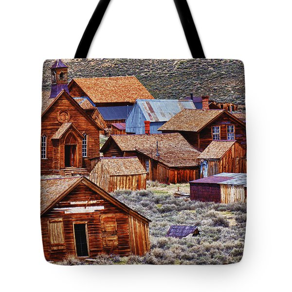 Bodie Ghost Town California Tote Bag by Garry Gay
