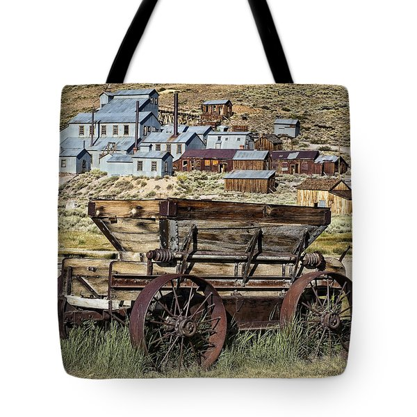 Bodie Wagon Tote Bag by Kelley King