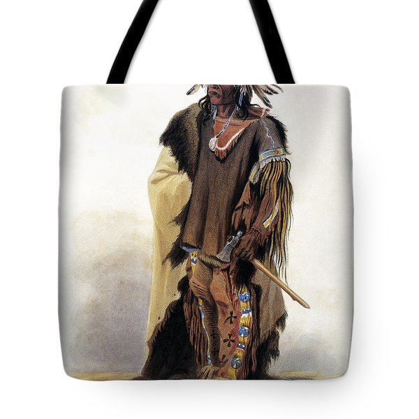 Bodmer: Sioux Chief Tote Bag by Granger
