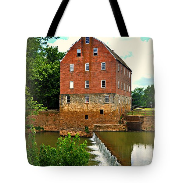 Bollinger Mill Tote Bag by Marty Koch