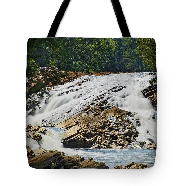 Bonnechere Falls Tote Bag by Phill Doherty