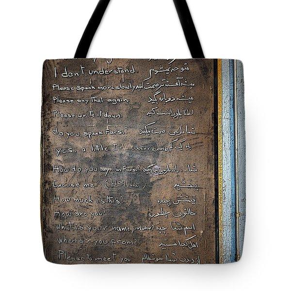 Bonvoyage America Tote Bag by Gwyn Newcombe