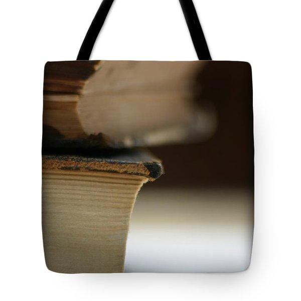 Books Tote Bag by Kelly Hazel