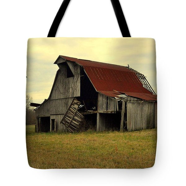 Bootheel Barn Tote Bag by Marty Koch