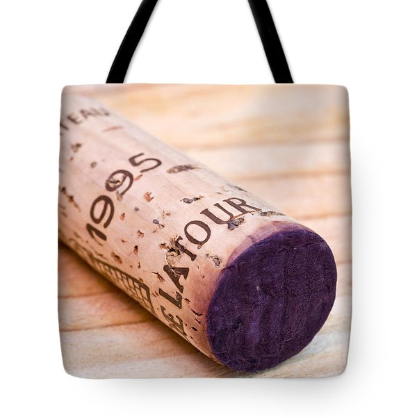 Bordeaux Wine Tote Bag by Frank Tschakert
