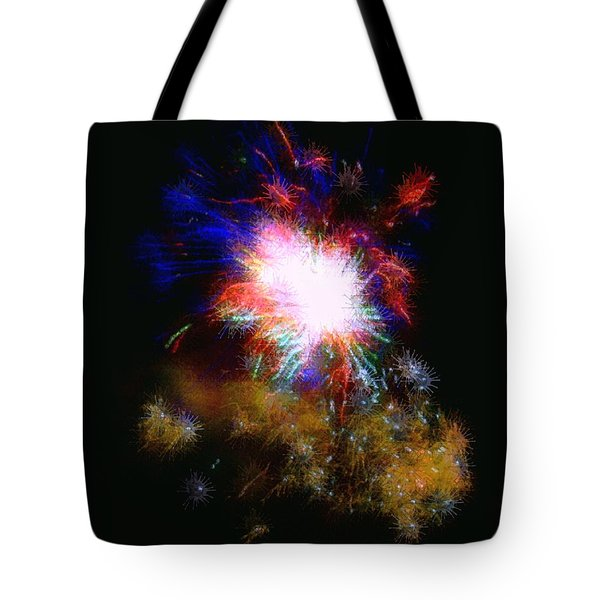 Born on the 4th of July Tote Bag by Dale   Ford