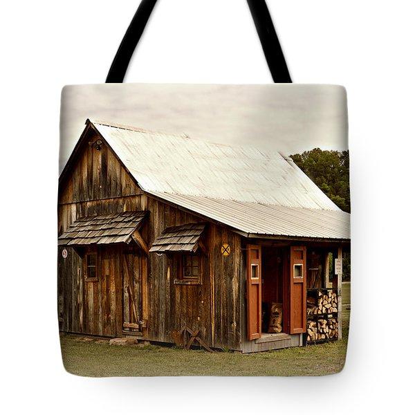 Bo's Shack Tote Bag by Marty Koch