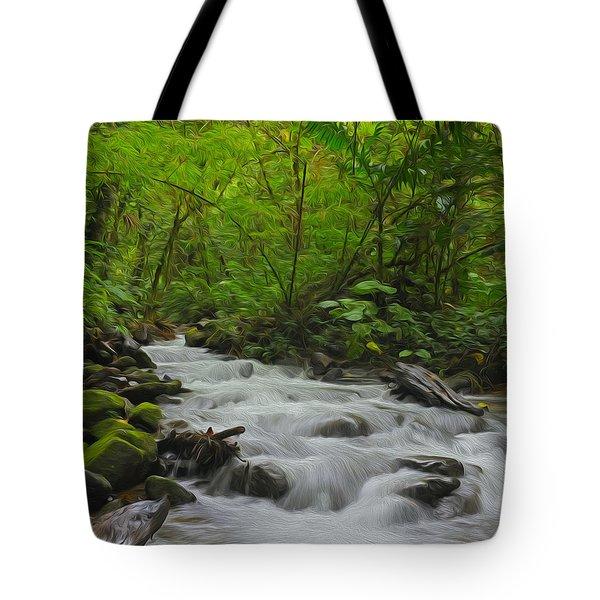 Bosque de Paz Tote Bag by Tony Beck