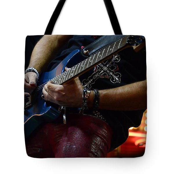 Boss Guitar Player Tote Bag by Bob Christopher