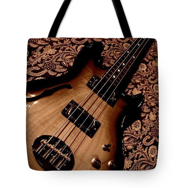 Botanical Bass Tote Bag by Chris Berry
