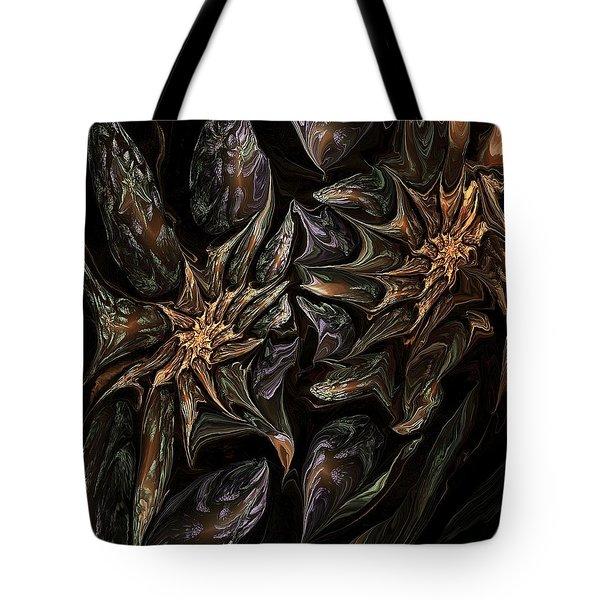 Botanical Fantasy 123011 Tote Bag by David Lane