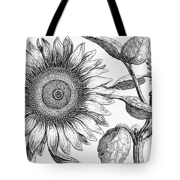 Botany: Sunflower Tote Bag by Granger