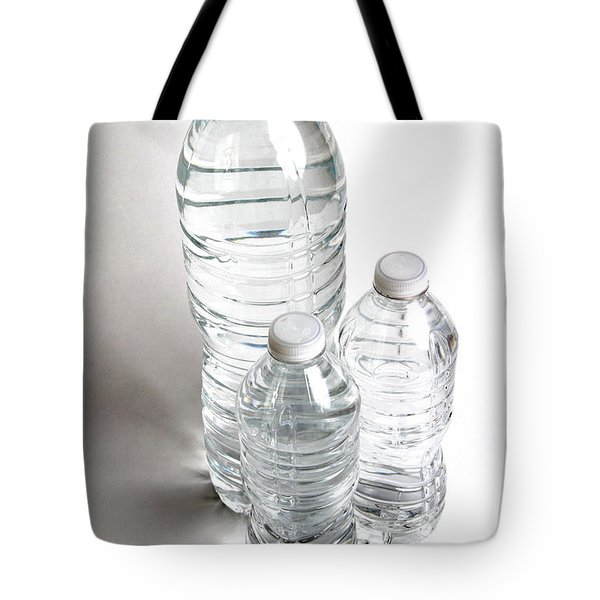 Bottled Water Tote Bag by Photo Researchers