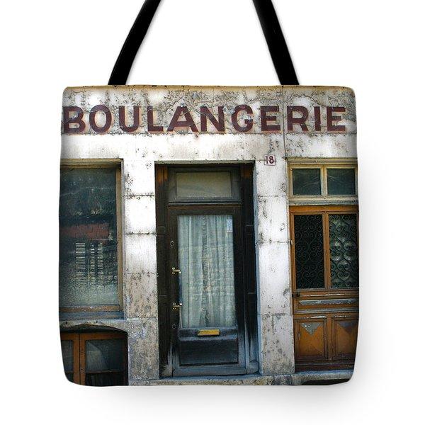 Boulangerie Tote Bag by Georgia Fowler