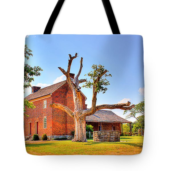 Bowen Plantation House 003 Tote Bag by Barry Jones