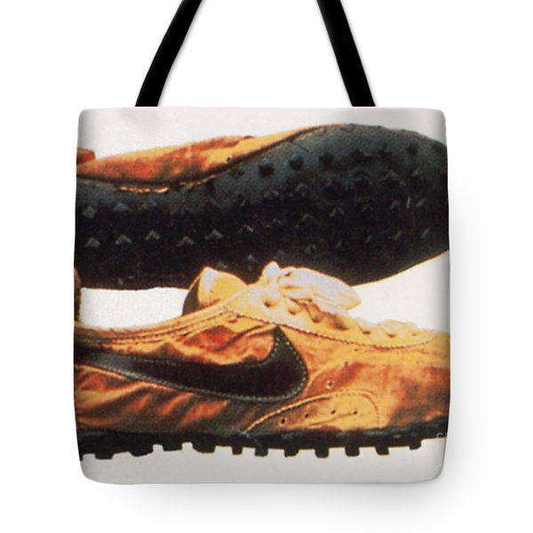 Bowermans Waffle Sole Design Tote Bag by Photo Researchers