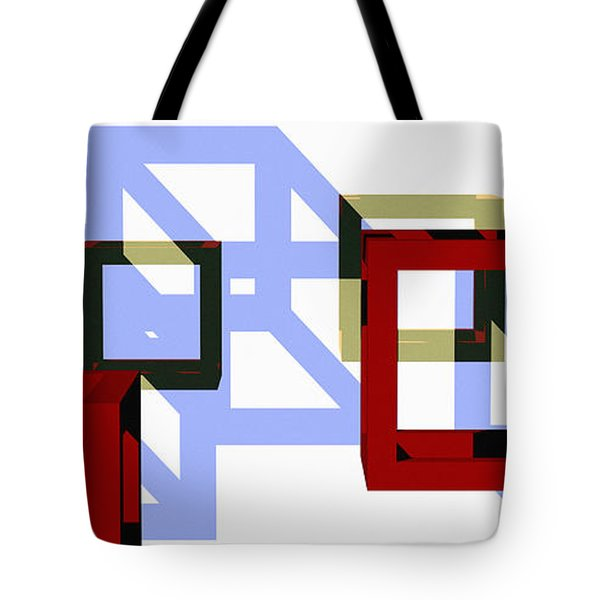 Boxed In Tote Bag by Richard Rizzo
