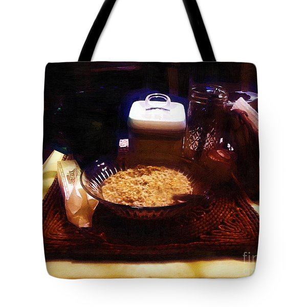 Breakfast of Champions Tote Bag by RC DeWinter