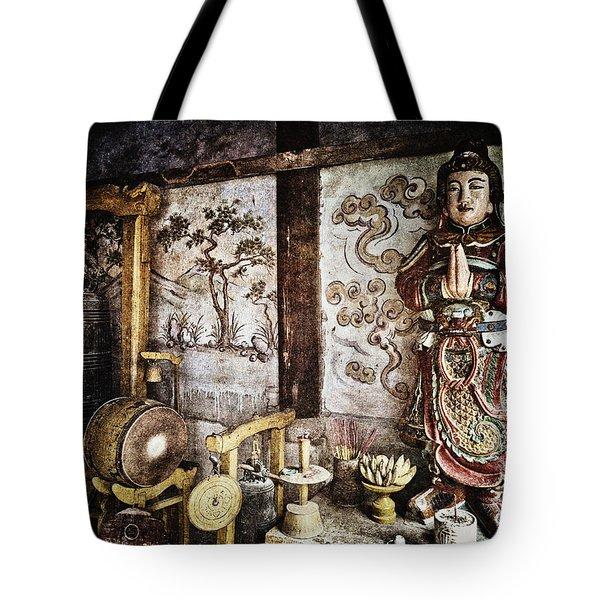 Breath Tote Bag by Skip Nall