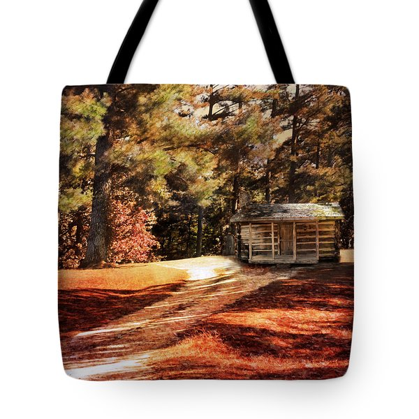 Brewer Cabin Tote Bag by Jai Johnson