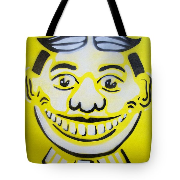 Bright White Yellow Tillie Tote Bag by Patricia Arroyo