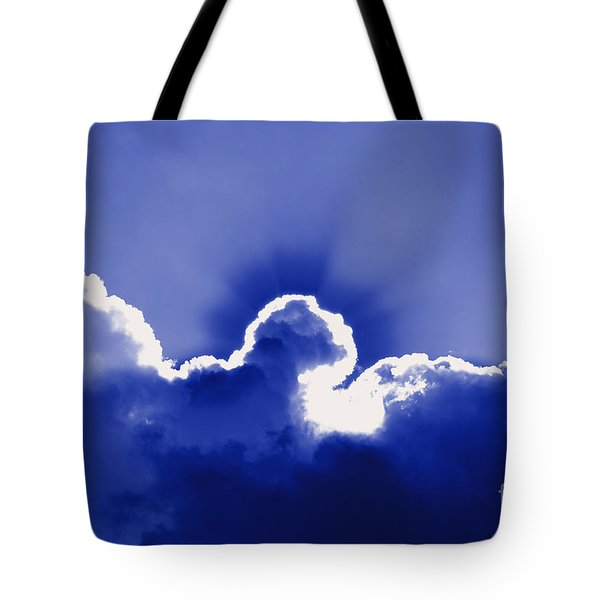 Brilliant Blue Tote Bag by Al Powell Photography USA