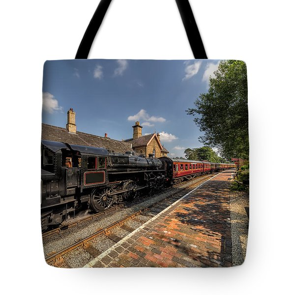 British Locomotion Tote Bag by Adrian Evans