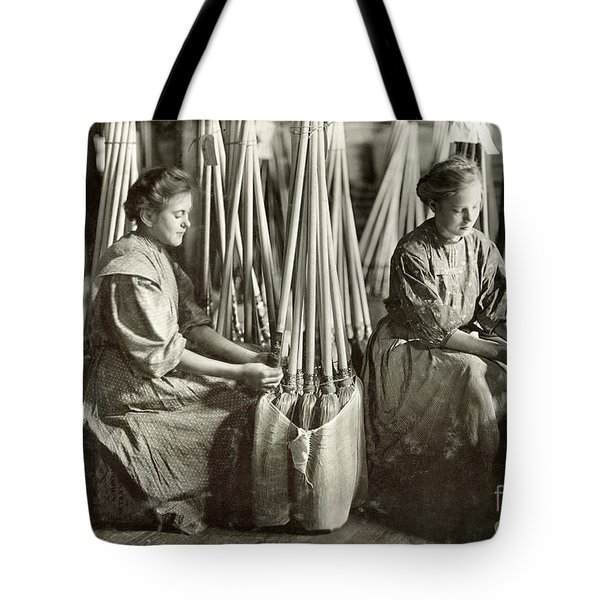 Broom Manufacture, 1908 Tote Bag by Granger