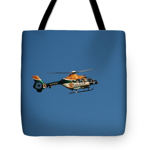 Broward County Sherriff Cop Ter Tote Bag by Rob Hans