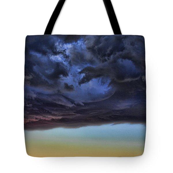 Bubble Cloud Tote Bag by Douglas Barnard