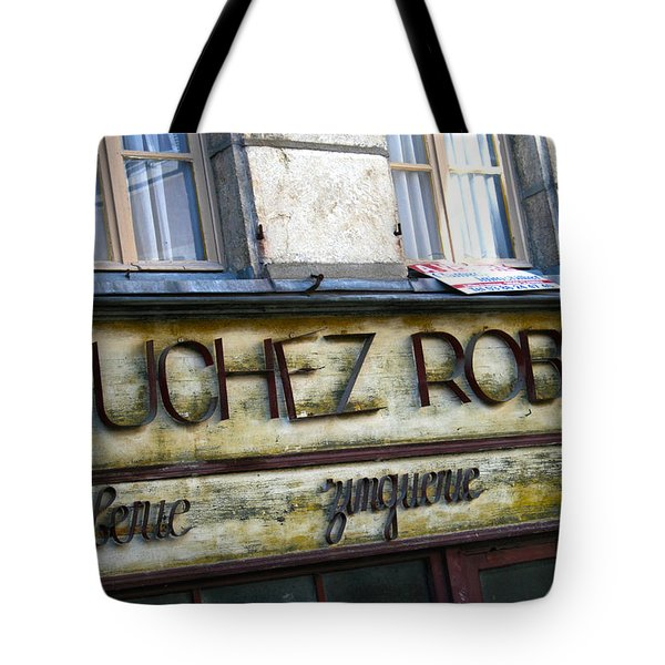 Buchez Robert Tote Bag by Nomad Art And  Design
