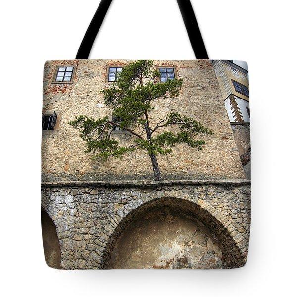 Buchlov Castle Tote Bag by Michal Boubin