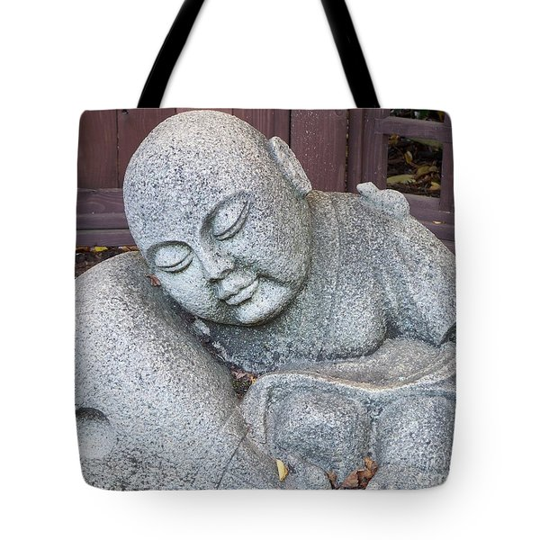 Buddha Tote Bag by Chalet Roome-Rigdon