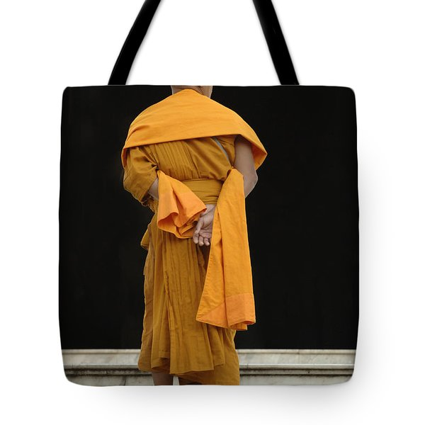 Buddhist Monk 1 Tote Bag by Bob Christopher