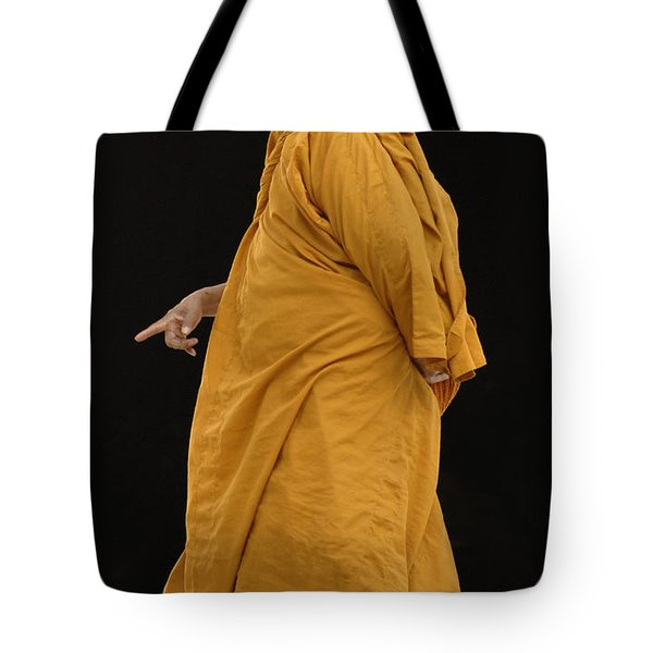 Buddhist Monk 3 Tote Bag by Bob Christopher
