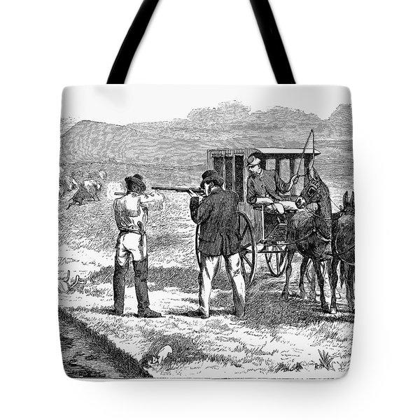 Buffalo Hunting, 1874 Tote Bag by Granger
