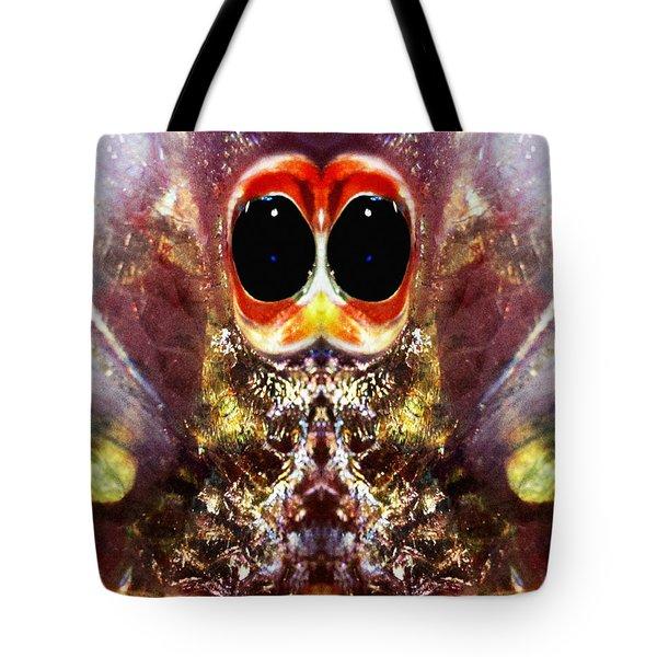 Bug Eyes Tote Bag by Skip Nall