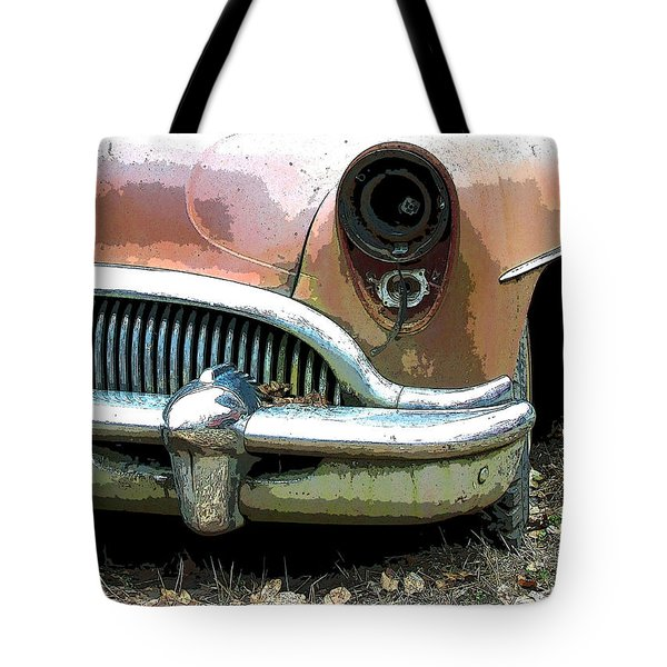 Buick Tote Bag by Steve McKinzie