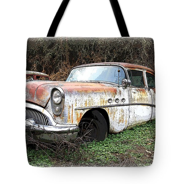 Buick Yard Tote Bag by Steve McKinzie