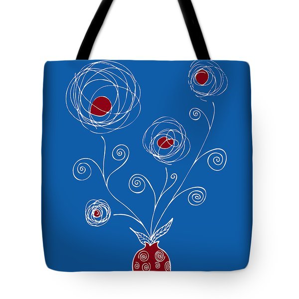 Bulb Flower Tote Bag by Frank Tschakert