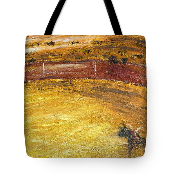 Bull-fights Tote Bag by Guido Montanes Castillo