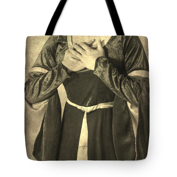 Bust Of A Woman Tote Bag by Joana Kruse