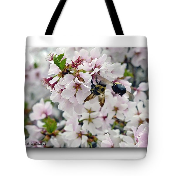 Busy Bees Tote Bag by Brian Wallace