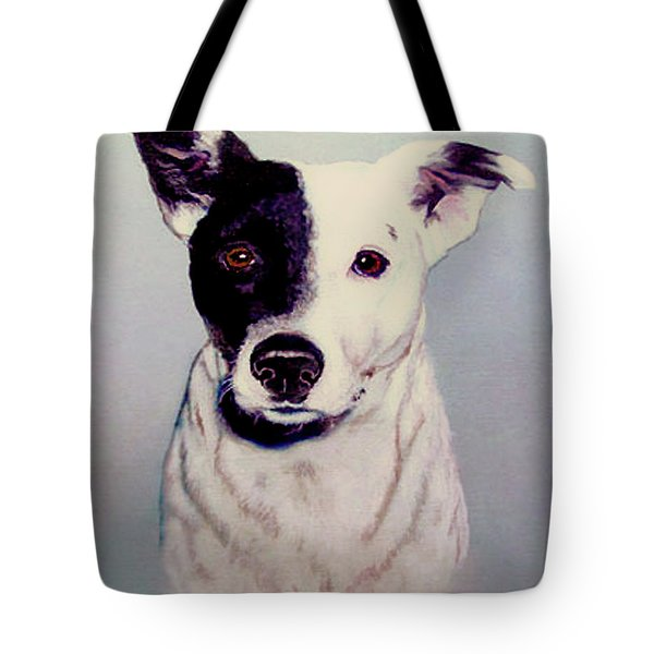 Butch The Smooth Fox Terrier Tote Bag by Bob and Nadine Johnston