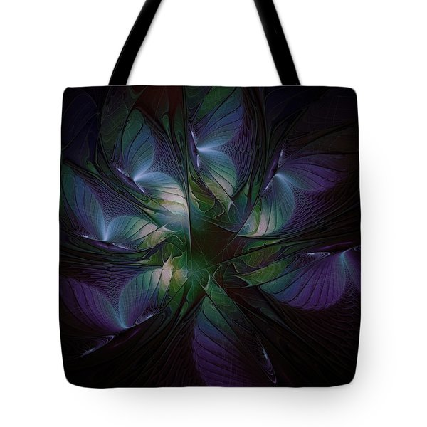 Butterfly Ball Tote Bag by Amanda Moore